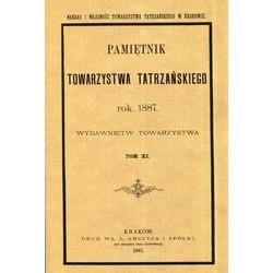 Pamiętnik Towarzystwa Tatrzańskiego, tom XI ( REPRINT)